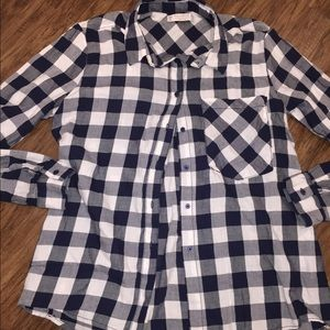 Tops - Small button up flannel